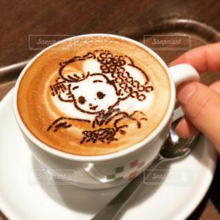 一杯のコーヒーの写真・画像素材[1446533]