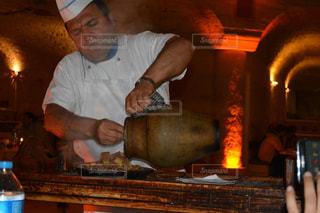 レストラン,洞窟,トルコ,海外旅行,カッパドキア,ケバブ,ツボケバブ,URANOSUSARIKAYA,洞窟レストラン