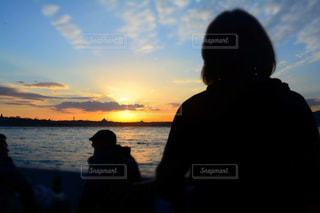 トルコで夕陽を眺めるの写真・画像素材[925748]