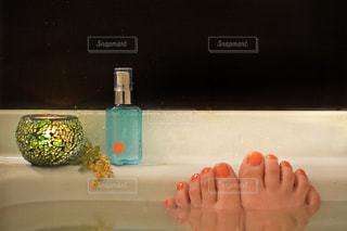 歯ブラシを持つ手 - No.1178391