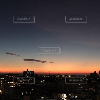 街を照らす夕陽🌇の写真・画像素材[777546]
