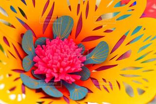 花,黄色,切り絵,造花,yellow