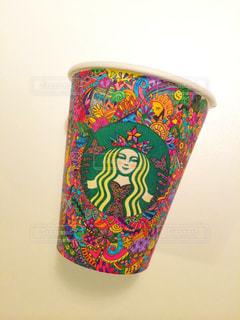 コーヒーカップアートの写真・画像素材[946602]