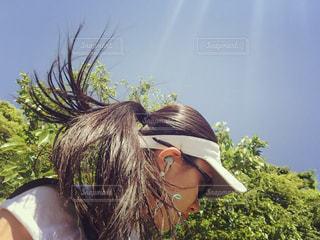 風と走るの写真・画像素材[977763]