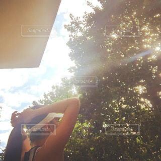 朝ランへgoの写真・画像素材[2109736]