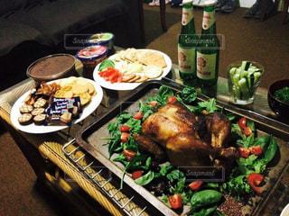 パーティ,食卓,リビング,ホームパーティ,アットホーム