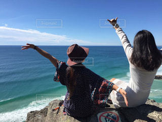 オーストラリアのビーチでポーズ - No.741573