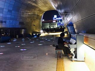 街の中にある音楽の写真・画像素材[826498]