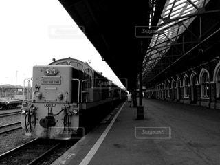 鉄道の駅に引いて - No.854261