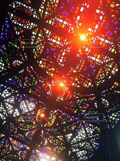 絶景,ハート,旅行,美術館,オーストラリア,メルボルン,スタンドグラス,ハートを探せ