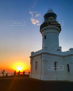 海,空,夕日,絶景,ビーチ,海岸,オーストラリア,バイロンベイ