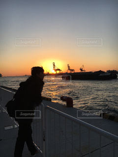 port of osakaの写真・画像素材[366366]