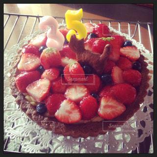 猫,ケーキ,いちご,苺,タルト,クッキー,手作り,イチゴ,ネコ,35歳