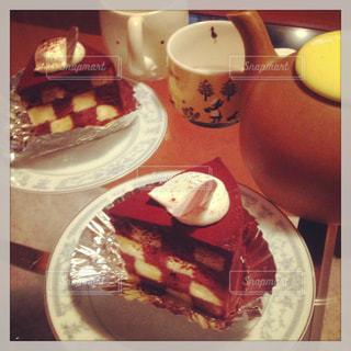 ケーキ,ティータイム,お茶,紅茶,チョコ,手作り,セバスチャン