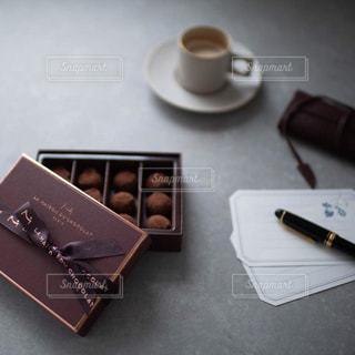 バレンタインチョコレートの写真・画像素材[2838309]