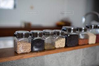 フレッシュロックに雑穀類の写真・画像素材[2865804]