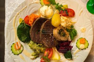 フランス,夕食,肉料理,コルマール,アルザス,Maison Rouge