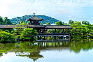 京都,観光,平安神宮,平安神宮御苑,橋殿