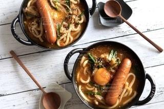 鍋焼きうどん,チゲ鍋,ジョンソンヴィル,チゲうどん,冬ごはん