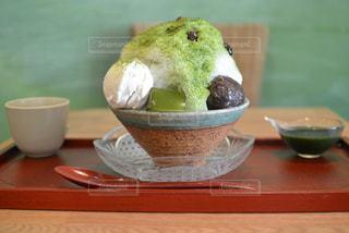 カフェ,抹茶,和,福岡,カキ氷,うめのま,渡辺通り
