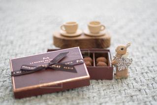 小さなお茶会の写真・画像素材[2838604]