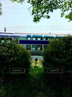 電車,子供,ハート