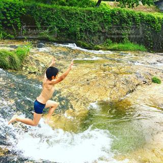 川,夏休み,熱中症対策