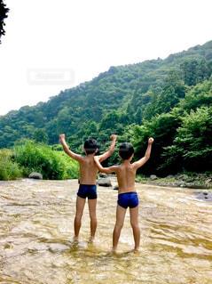 川,子供,夏休み,熱中症対策