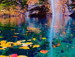 幻の滝の写真・画像素材[1598626]