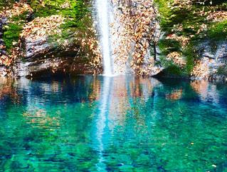 幻の滝の写真・画像素材[1598643]