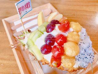 フルーツ,かき氷,台中,台灣,フルーツかき氷,逢甲,逢甲氷菓室