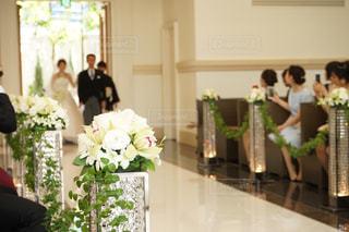 娘の結婚式の写真・画像素材[1227908]