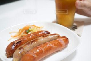 美味しそう,ビール,ご飯,肉,夕食,ソーセージ,光る,夕飯,おつまみ,肉汁,肉料理,アンバサダー,プリプリ,しずる,ジョンソンヴィル