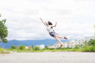 ライダージャンプの写真・画像素材[2980095]