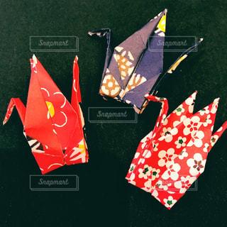 かわいい,小物,日本,和,折り紙,鶴,和柄,折り鶴