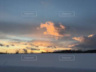 ニセコの夕日の写真・画像素材[1770482]