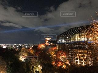 夜の街の景色の写真・画像素材[906812]