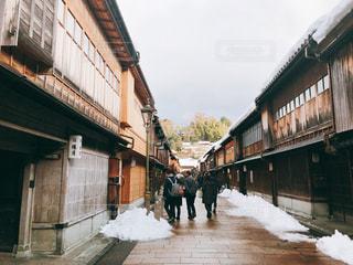 冬休みの金沢旅行の写真・画像素材[1032828]