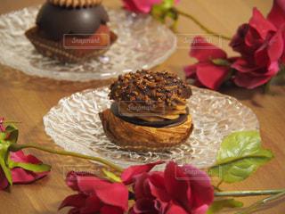 ケーキ,おやつ,チョコレート,シュークリーム