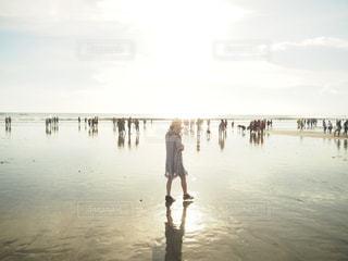 バリのビーチの写真・画像素材[695214]