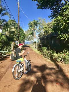 自転車,ビーチ,アメリカ ハワイ ププケア
