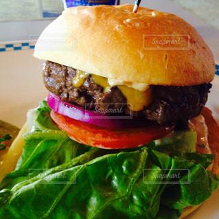 ハンバーガーの写真・画像素材[407119]