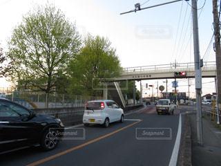 街,歩道橋,町,埼玉県,さいたま市