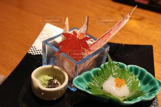お刺身,蟹,私のお気に入りランチ