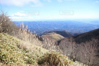 山の側のビューの写真・画像素材[873743]