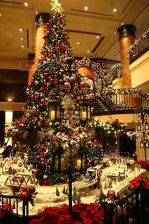 屋内,クリスマス,ホテル,クリスマスツリー,クリスマスの思い出,クリスマス会