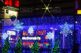 夜,カラフル,イルミネーション,電飾,クリスマスの思い出
