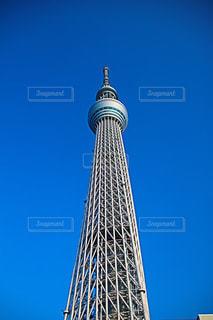 空,建物,東京,青,スカイツリー,休日,お出かけ,東京見物