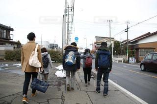 住宅街,休日,お散歩,お出かけ