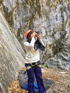 自然,アウトドア,カメラ女子,スポーツ,屋外,岩,人,運動,お出かけ,ロック クライミング